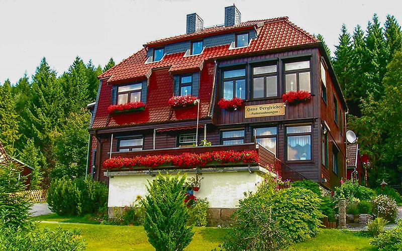 Haus Bergfrieden in Schierke Harz